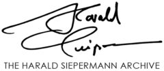 The Harald Siepermann Archive