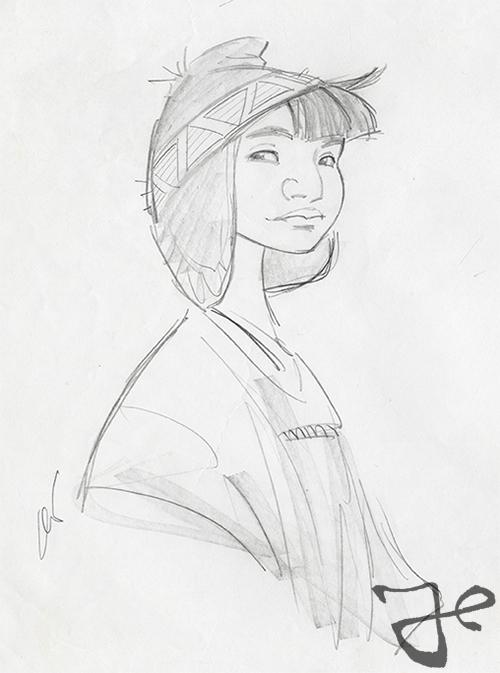 Kuzco, l'Empereur Mégalo [Walt Disney -2001] - Page 6 Pacha-design-09