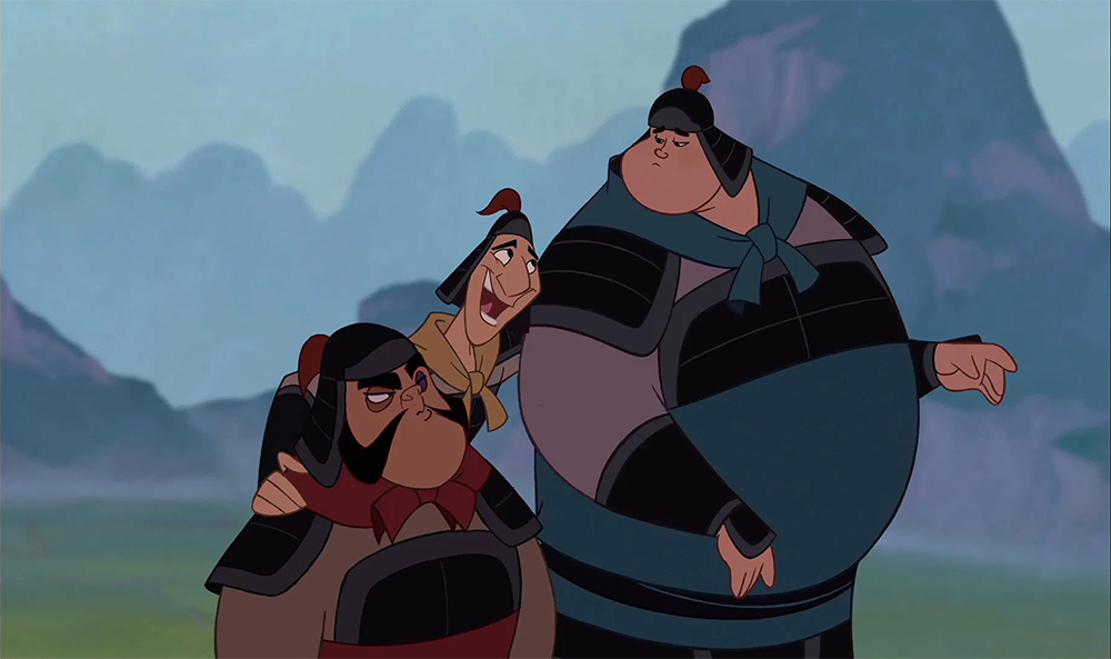 The Gang Of Three From Walt Disney S Mulan The Harald Siepermann Archive